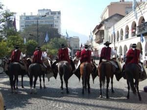 Horsemen, Salta, Argentina