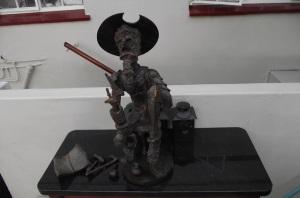 Don Quixote damaged