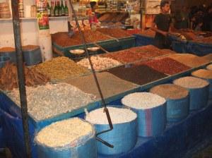 Casablanca Medina - Spice seller