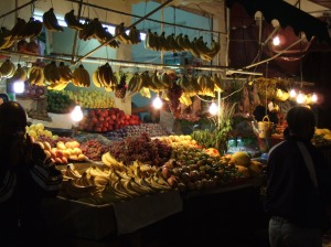 Fruit Seller, souq, Casablanca