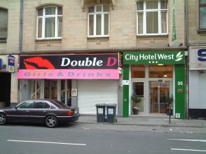 City Hotel West and Double D Frankfurt