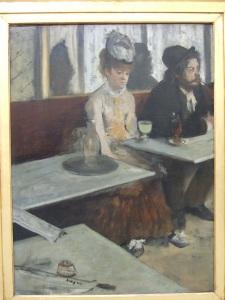 Degas - Absinthe drinkers