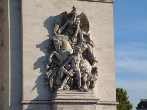 Arc de Triomphe - Detail