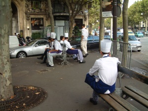 Chef's break - Paris