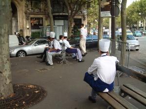 Chef's break - Paris