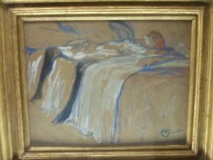 Toulouse Lautrec - Woman pleasuring herself