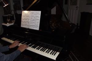 Bach on my Steinway B
