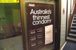 Australia's Thinnest Condom