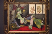 Picasso Portrait of a Woman Lying