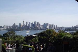 Sydney from Taronga Zoo
