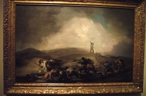 1 Goya depicting War