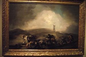 1 Goya depicting War