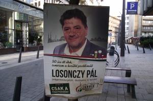 1 Political poster, Budapest