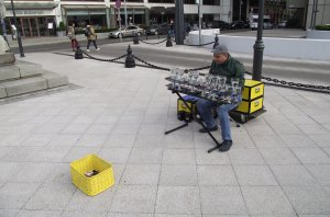 Water Glockenspiel Budapest