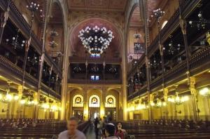 Budapest Jewish synagogue