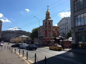Church of All Saints - Kulishki - Moscow