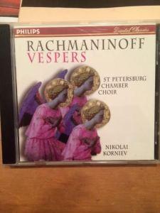 Rachmaninoff Vespers CD
