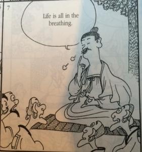 Zen Master and Monks