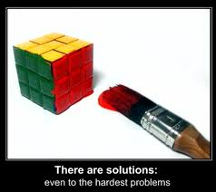 Rubik's Cube Clever Solution