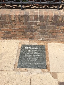 Anglo Boer War Street Plaque