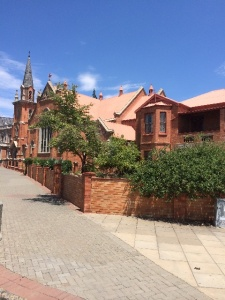 Kimberley Red Brick Buildings